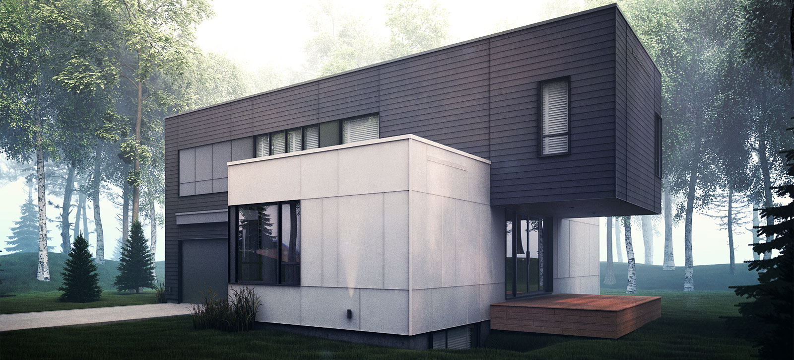 Construction Maison Contemporaine Quebec Maison Moderne Of Budget ...