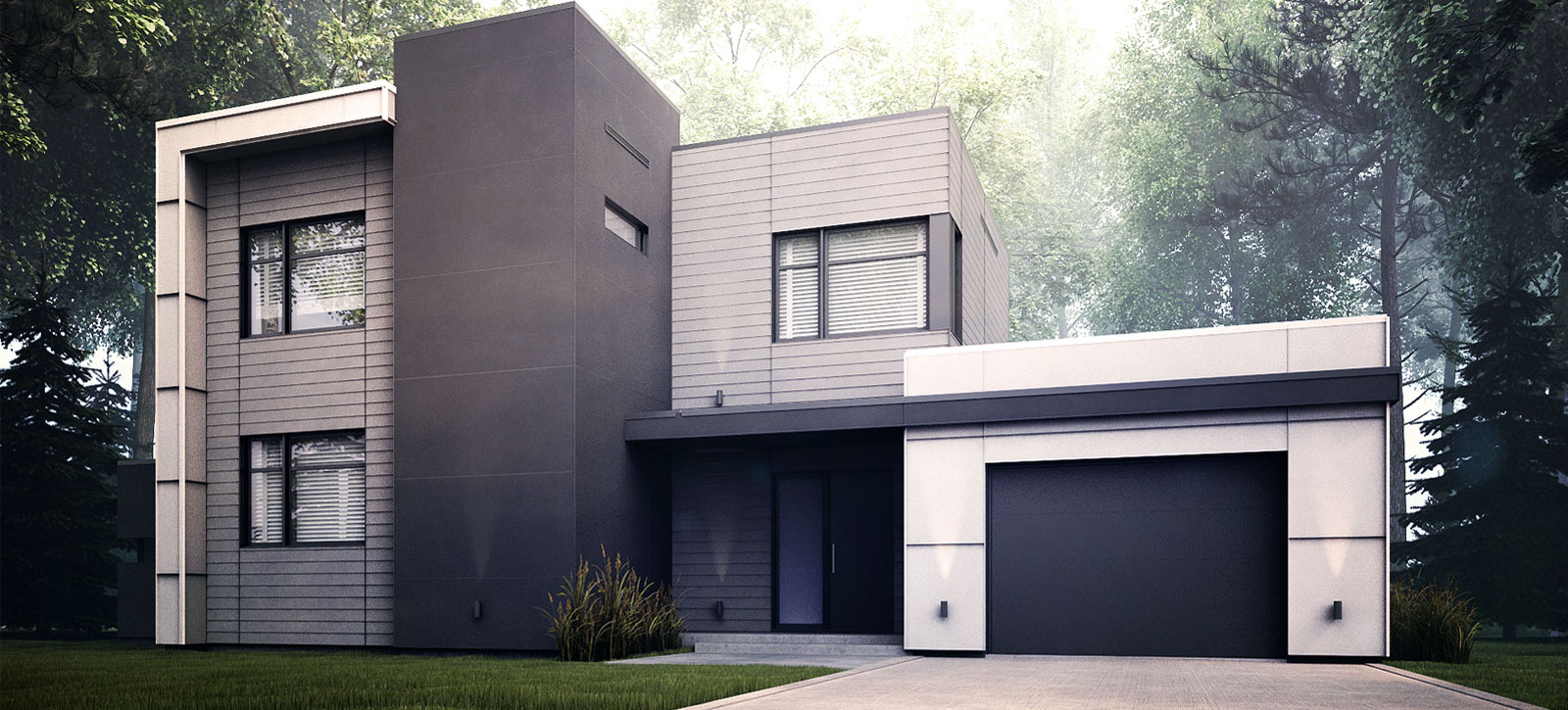 Projet maison service aux projet albatros homes zone c for Projet maison contemporaine