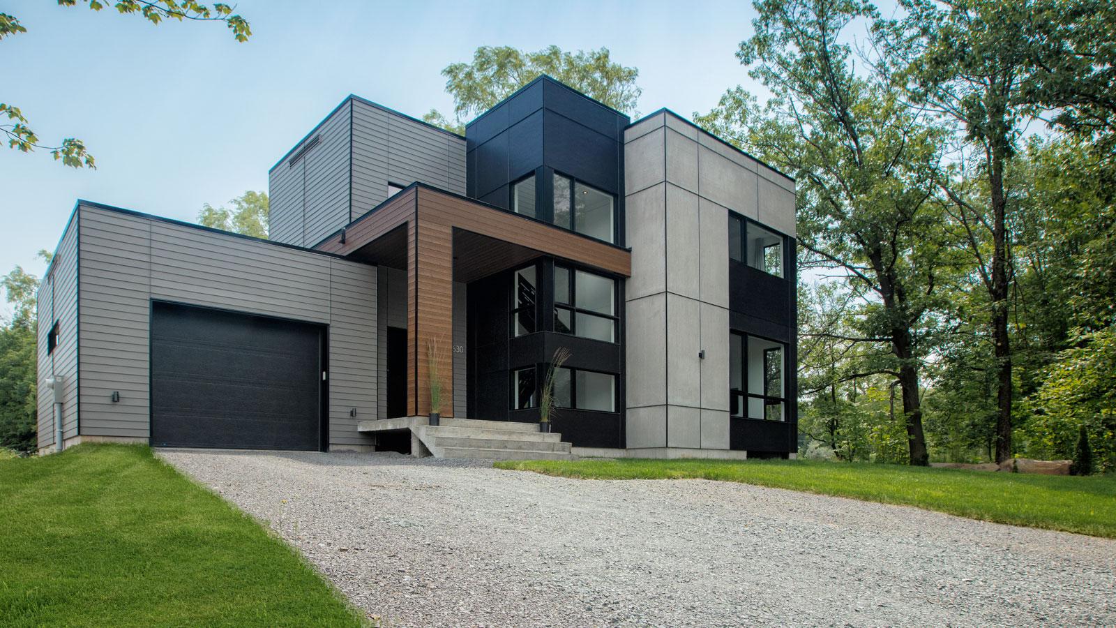 Zone c nous vous proposons le premier projet v ritablement contemporain qu bec avec - Plan de maison quebec ...